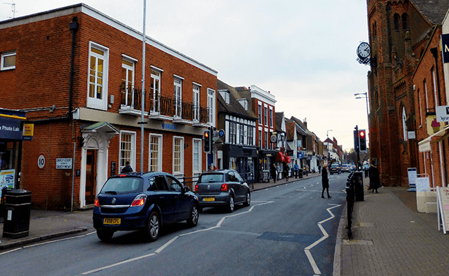 Town Centre in Essex